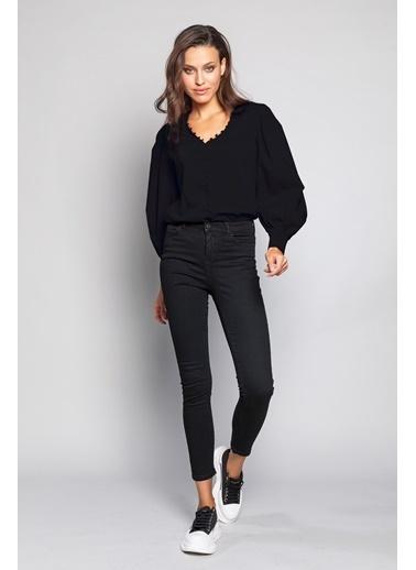 Ashleys Gömlek Siyah
